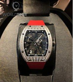 Richard Mille [NEW] RM 023 TitaniumMed Set Diamonds Mens Watch