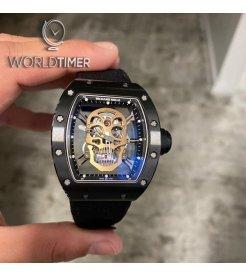 Richard Mille [LIKE NEW] RM 52-01 Tourbillon Skull Nano Ceramique