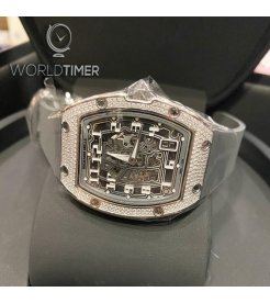 Richard Mille [NEW] RM 67-01 White Gold Full Set Diamonds Extra Flat