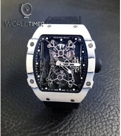 Richard Mille [LIMITED 5 PIECE] RM 27-01 Rafael Nadal Tourbillon White Quartz TPT