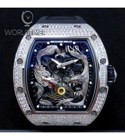 Richard Mille RM 57-01 Phoenix and Dragon Jackie Chan Full Set Diamonds