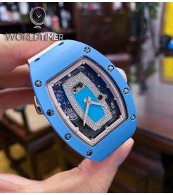 Richard Mille [LIMITED 30 PIECE] RM 037 Blue Ceramic Ladies Watch
