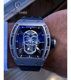Richard Mille RM 052 Tourbillon Skull Titanium Watch
