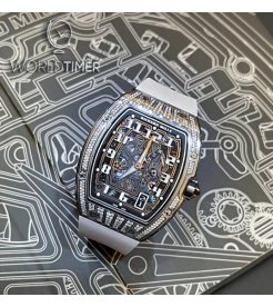 Richard Mille [99% NEW] RM 67-01 Titanium Med Set Diamonds Auto Extra Flat