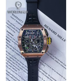 Richard Mille [2019 MINT] RM 11-03 Rose Gold & Titanium Automatic Flyback Chronograph