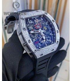 Richard Mille RM 11-03 White Gold Med Set Diamonds Watch