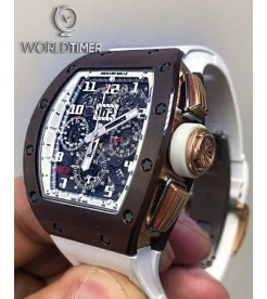 Richard Mille RM 011 Asia Boutique Brown Ceramic Limited By Milleaholic Flyback Chronograph