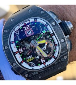 Richard Mille [NEW][LIMITED 30 PIECE] RM 62-01 Tourbillon Vibrating Alarm Airbus Corporate Jets