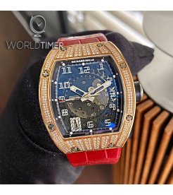 Richard Mille [2007 USED] RM 005 Med Set Diamonds Rose Gold Watch