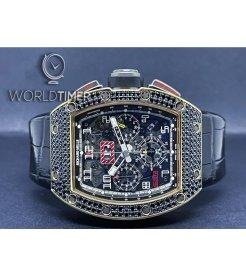 Richard Mille [LIMITED 10 PIECE] RM 011 Rose Gold Diamonds Dubai Boutique Edition