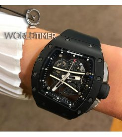 Richard Mille [2015 USED] RM 61-01 Black Yohan Blake  Limited Edition of 100 Pieces