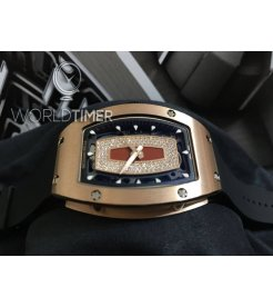 Richard Mille NEW RM 007 Rose Gold Red Lip Ladies Watch