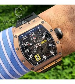 Richard Mille [NEW] RM 030 Rose Gold Skeleton Dial (Retail:US$115,000) - SOLD!!