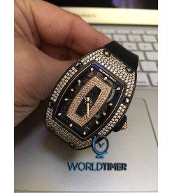 Richard Mille [NEW][RARE] RM 007 NTPT Pave Diamonds Ladies Watch