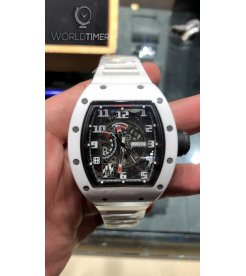 Richard Mille [2015 USED][LIMITED 50 PIECE] RM 030 White Rush Automatic Watch - SOLD!!