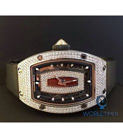 Richard Mille [NEW][RARE] RM 07-01 White Gold Ladies Full Set Diamond Watch