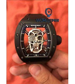 Richard Mille [NEW][LIMITED 6 PIECE] RM 52-01 Asia Edition Diamond Skull - SOLD!!