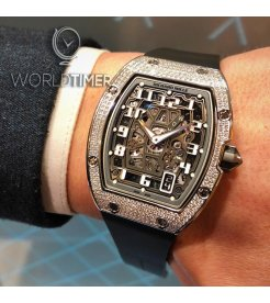 Richard Mille [NEW] RM 67-01 Extra Flat Automatic White Gold Full Set Diamond Watch
