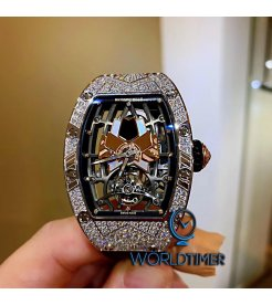 RICHARD MILLE [NEW][LIMITED 5 PIECE] RM 71-01 TOURBILLON TALISMAN ROSE GOLD LADIES
