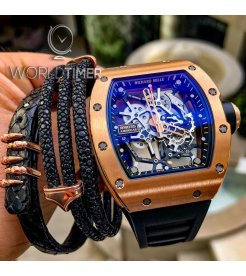 Richard Mille NEW-LIMITED 50-全新限量50支 RM 035 Rose Gold Toro - SOLD!!