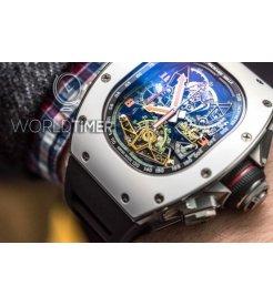 Richard Mille [NEW][RM 50-02 ACJ Tourbillon Split Seconds Chronograph For Airbus Corporate Jets
