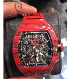 Richard Mille [NEW] RM 011 Red TPT Quartz Automatic Flyback Chronograph