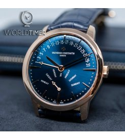 Vacheron Constantin [NEW] Patrimony Retrograde Day-Date 4000U/000R-B516 (Retail:HK$334,000)