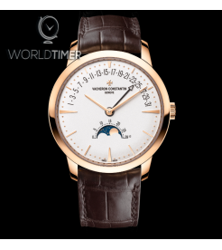 Vacheron Constantin [NEW] Patrimony Moon Phase Retrograde Date 44010U/000R-B329 (Retail:HK$326,000)
