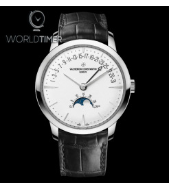 Vacheron Constantin [NEW] Patrimony Moon Phase Retrograde Date 4010U/000G-B330 (Retail:HK$326,000)