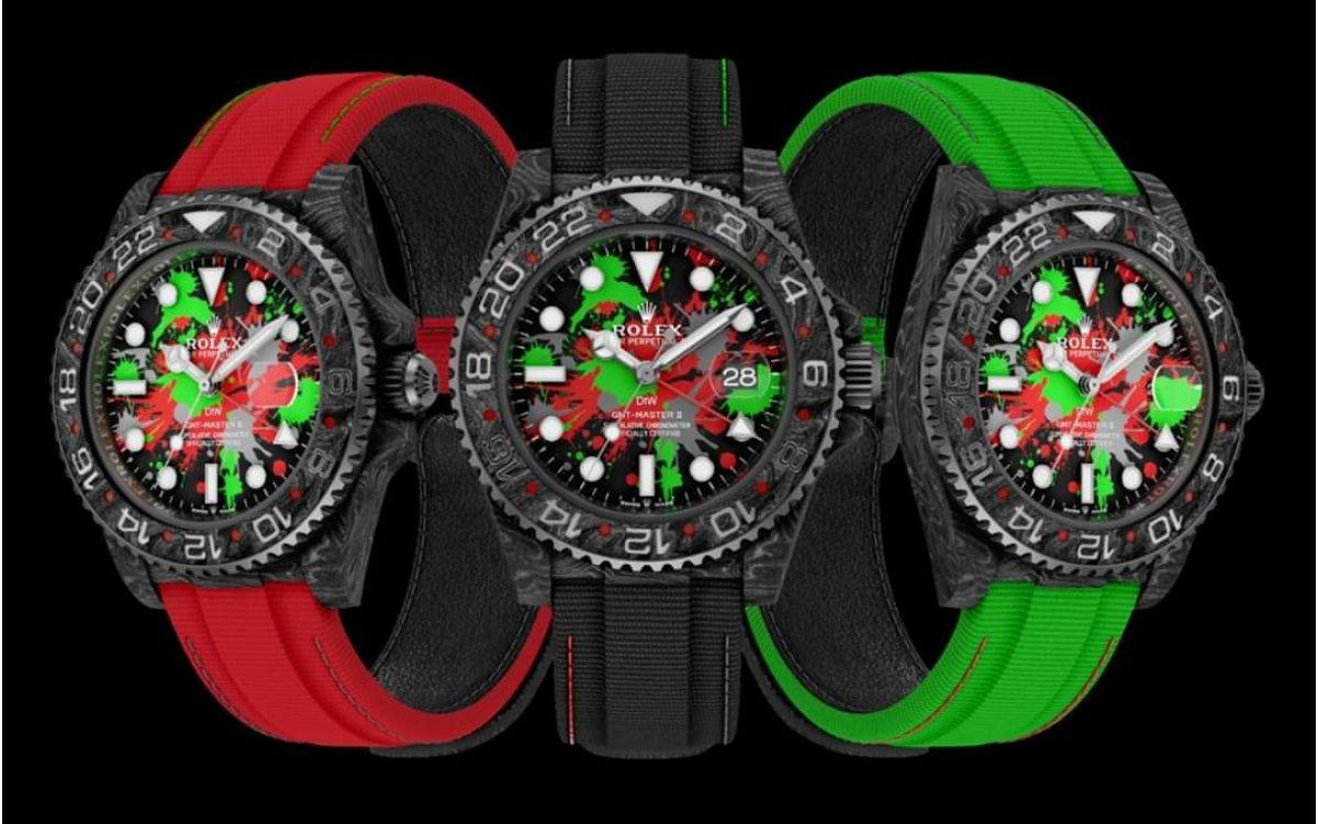 Rolex DiW NTPT Carbon GMT-MASTER II