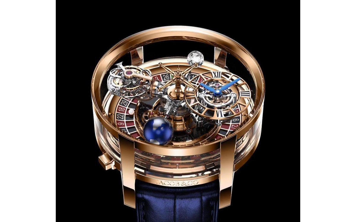 Baselworld 2019【Jacob & Co. Astronomia Casino 腕上輪盤】