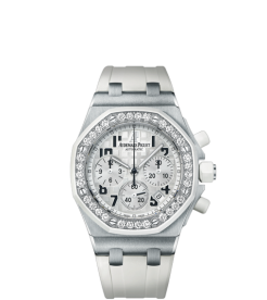 Audemars Piguet [NEW] Royal Oak Offshore Ladies White Dial 26048SK (List Price: HK$224,000)