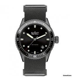Blancpain [NEW] Fifty Fathoms Bathyscaphe Automatic 43mm Men's watch 5000-0130-NABA