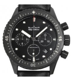 Blancpain [NEW] Fifty Fathoms Bathyscaphe Flyback Chronograph 43mm 5200-0130-B52A (Retail:HK$137,000)