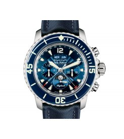 Blancpain [NEW] Fifty Fathoms Complete Calendar Flyback Chrongraph 5066F-1140-52B (Retail:HK$198,000)