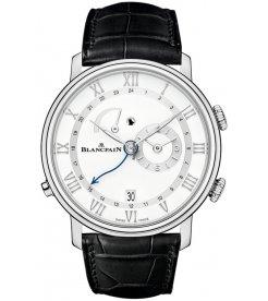 Blancpain [NEW] Villeret Reveil GMT 6640-1127-55B (Retail:HK$197,000)