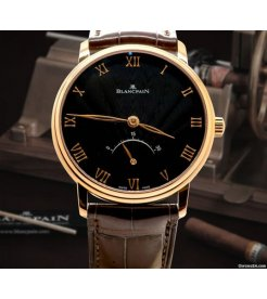 Blancpain [NEW] Villeret Ultra Slim 30 Seconds Retrograde Mens 6653-3630-55B (Retail:HK$175,500)