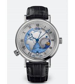 Breguet [NEW] Classique Hora Mundi Mens 5717pt/eu/9zu