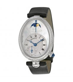 Breguet [NEW] Reine De Naples Mother of Pearl Dial White Gold Diamond (Retail:HK$287,500)