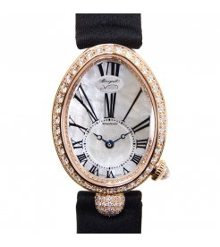 Breguet [NEW] Reine de Naples Mother of Pearl Rose Gold Ladies 8928BR/51/844.DD0D (Retail:CHF 34200)