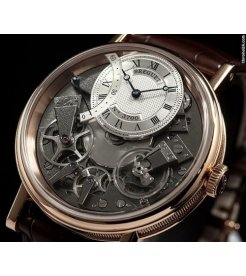 Breguet [NEW] Tradition 7097 7097BR/G1/9WU Rose Gold Watch
