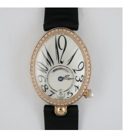 BREGUET [全新] 8918BR/58/864/D00D REINE DE NAPLES ROSE GOLD (Retail:CHF$33,500)