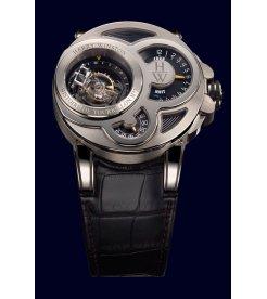 Harry Winston [NEW] Histoire de Tourbillon 2 limited edition manual 18K white gold timepiece