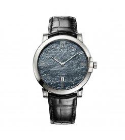 Harry Winston [NEW] Midnight 42mm automatic 18K white gold timepiece black dark dial MIDAHD42WW003