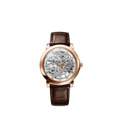 Harry Winston [NEW] Midnight Skeleton automatic 18K rose gold timepiece MIDAHM42RR001