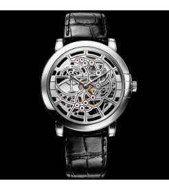 Harry Winston [NEW] Midnight Skeleton automatic 18K white gold timepiece MIDAHM42WW001