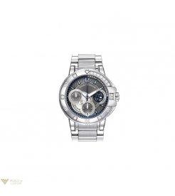 Harry Winston [NEW] Ocean Sport™ Ladies' Chronograph automatic zalium partially set zalium bracelet black dark indexes OCSACH38ZZ007