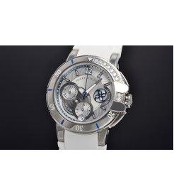 Harry Winston [NEW] Ocean Sport™ Ladies' Chronograph automatic zalium unique setting OCSACH38ZZ001