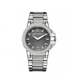 Harry Winston [NEW] Ocean Sport™ Ladies quartz zalium timepiece on zalium bracelet black dark indexes OCSQHD36ZZ009