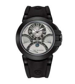 Harry Winston [NEW] Ocean Triple Retrograde Chronograph automatic zalium black DLC OCEACT44ZZ005